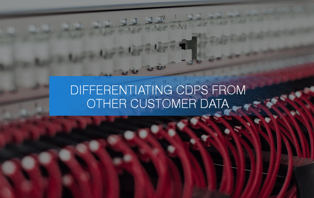 Differentiating CDPs from other Customer Data Solutions
